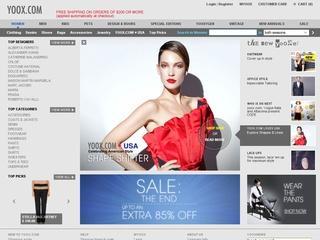 YOOX 子供服が10%割引クーポンを配布 2012年