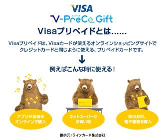 VISAプリカの説明用の画像