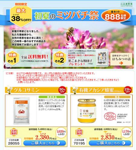 山田養蜂場 最大38%OFFミツバチ祭