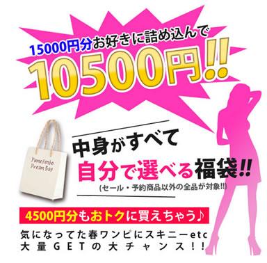夢展望の5千円分お得な福袋 2013年3月