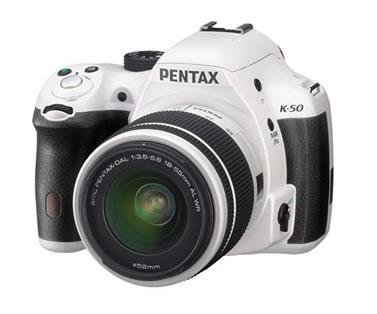 ペンタックス デジタル一眼レフカメラ PENTAX K-50の外観