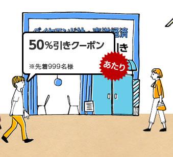 楽天koboの50%OFFクーポン 2013年9月
