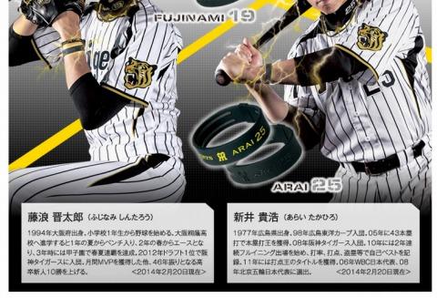 阪神2選手の写真