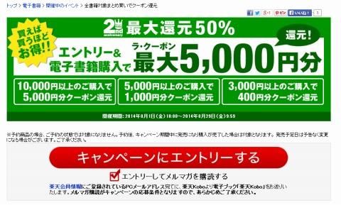 koboのキャンペーン紹介