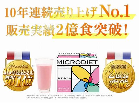 マイクロダイエット 4箱買うと2箱プレゼント