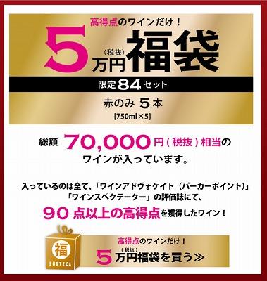 5万円福袋の特徴