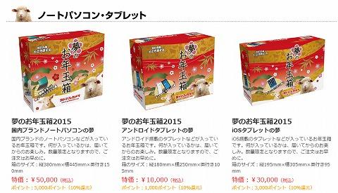 ノートパソコンお年玉箱の紹介
