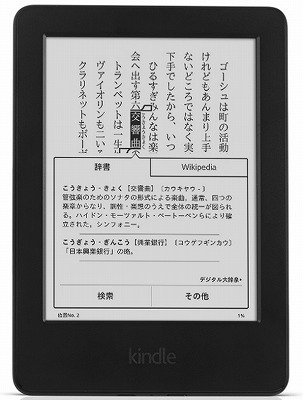 amazon KindleとPaperwhite2000円割引クーポン