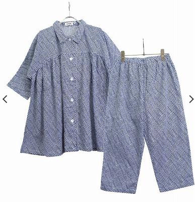 婦人7分袖7分丈パンツの写真