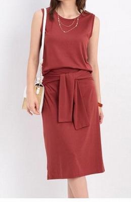 ウエストリボンスカート付セットアップの商品写真