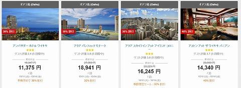 お勧めのホテルと価格