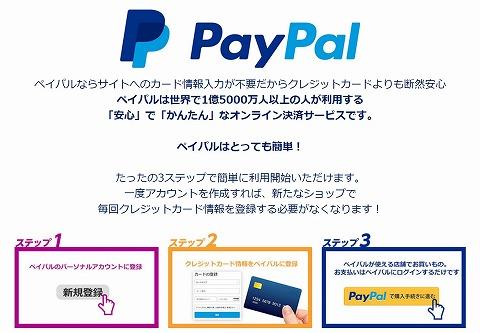 PayPalの特徴