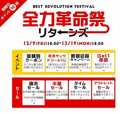 年末サンワドリームくじでサンワダイレクトのポイントが最大5万円分!