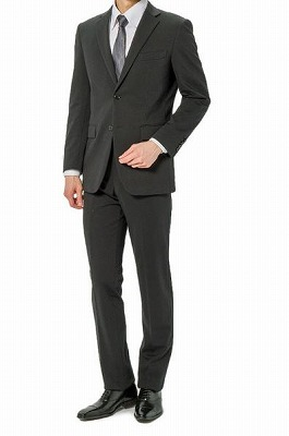 I.B.S上下ウォッシャブルニットスーツの写真