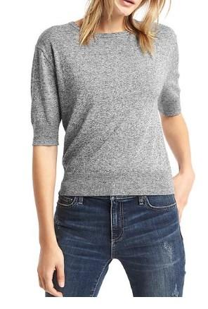 Half sleeve easy pulloverの写真