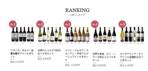 人気のワインセット